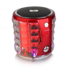 PORTABLE MINI SPEAKER T-2096A ROJO