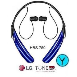 LG Tono PRO Inalámbrico Auriculares Estéreo HBS-750 Bluetooth AZUL