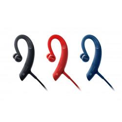 SONY MDR-XB80BS Auriculares deportivos Bluetooth con agarre al oído COLOR ROJO
