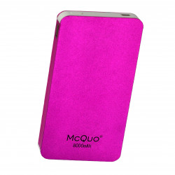 MCQUO REF: 51051 POWER BANK 8000mAh MORADO