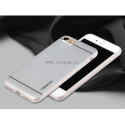IPHONE 6PLUS 6S PLUS IMD FUNDA YESIDO PLATA
