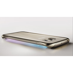 FUNDA CLEAR COVER ORIGINAL SAMSUNG GALAXY S6 DORADA SILVER