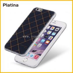 IPHONE 6 6S FUNDA PLATINA 简约时尚格纹系列