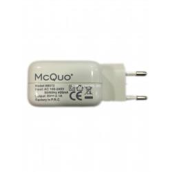 MCQUO 99572 ADAPTADOR DE USB 10W 5V-2.1A