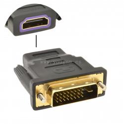 ADAPTADOR DE HDMI A DVI 24+1