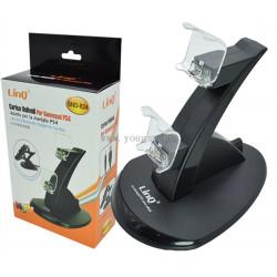 LINQ SND-824 Stand di Ricarica per 2 Game Pad PS4