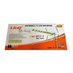 LINQ LI-W38B ANTENA TV UHF ESTERNA 4G LTE