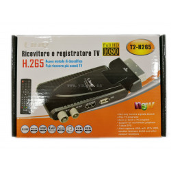LINQ T2-H265 RECEPTOR Y GRABADOR TV FULL HD