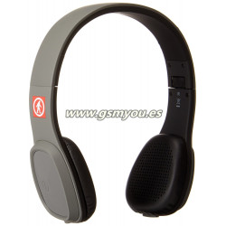 Outdoor Tech Los Cabos Auriculares de diadema cerrados con Bluetooth color gris