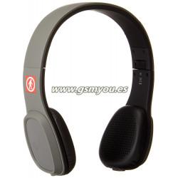 Outdoor Tech Los Cabos Auriculares de diadema cerrados con Bluetooth color gris