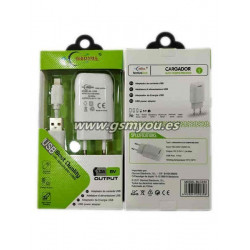 BLC030 ADAPTADOR 1.3A+CABLE PARA IPHONE