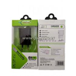 BLC020 ADAPTADOR USB 1.3A NEGRO