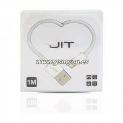 JIT CABLE DE DATOS PARA IPHONE IPAD 1M