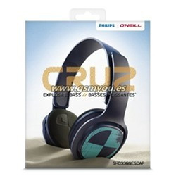 PHILIPS SHO3300MINT NEGRO AURICULAR CON CABLE