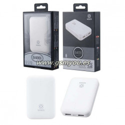 WD2367 POWER BANK BLANCO 8400MAH