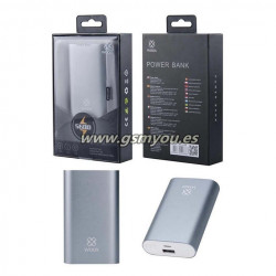 WD2364 POWER BANK GRIS 5600MAH